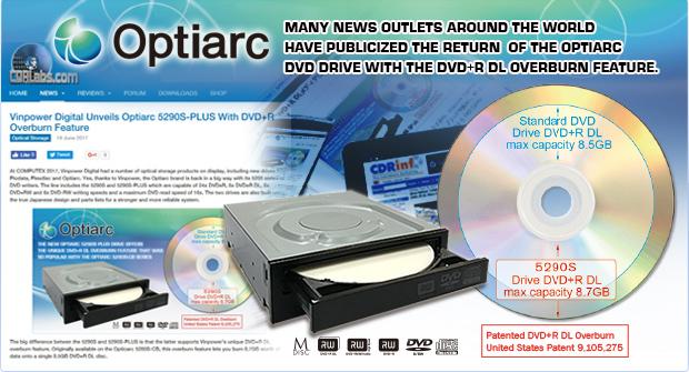 Optiarc media coverage