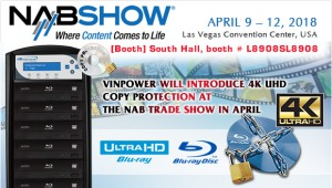 4K copy protect at NAB 2018