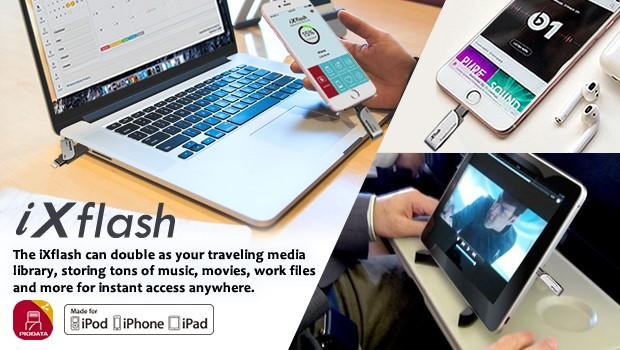 iXflash traveling library