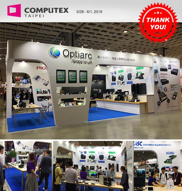 Computex 2019 booth