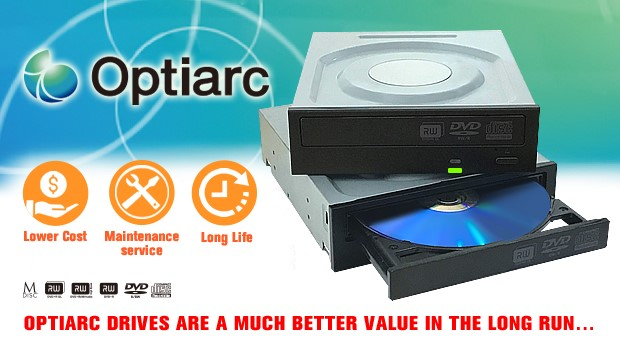 Optiarc more cost effective