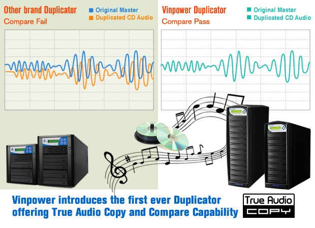 true audio copy and compare