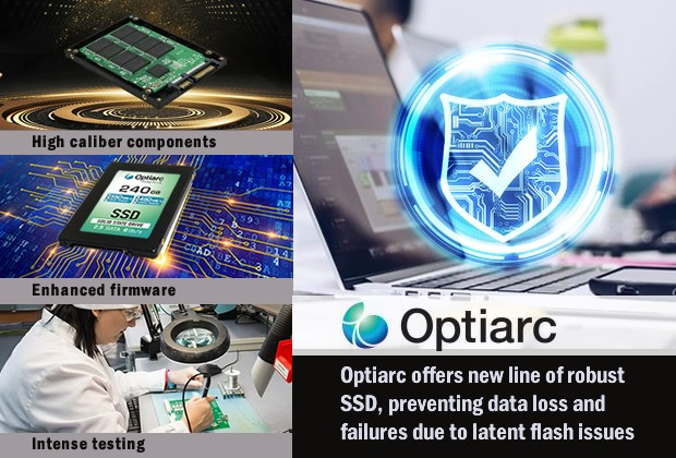 Optiarc SSD protect data loss