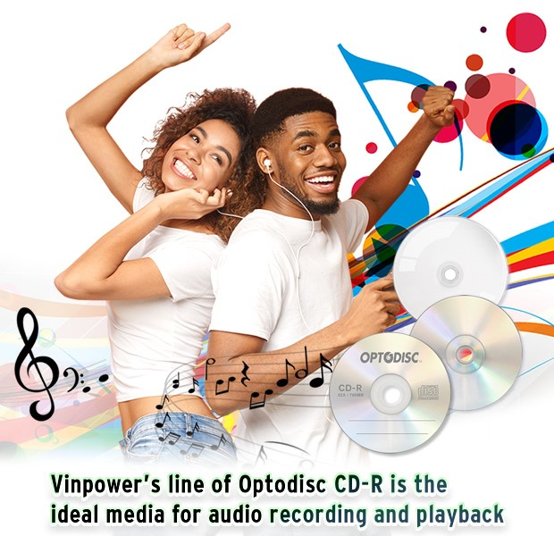 Optodisc cd audio