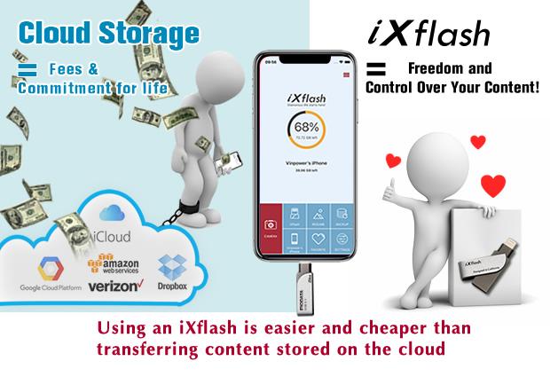 iXflash-Switch-Cloud